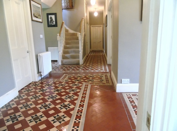 Gloucestershire Victorian Tile Cleaning Gallery Of Work